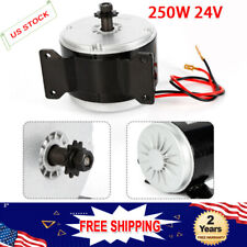 250w 24v Dc Electric My1016 Motor Brushes For Brushed Mini Bike Razor Usa