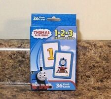Thomas and Friends 123 Number Flash Learning Cards New Homeschool Preschool