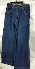 Vtg 90s HONG KONG Mens Jeans Made By South Pole Size 36 Dark Wash baggy  HIP'HOP