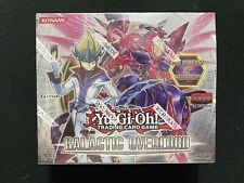 Yugioh Galactic Overlord 1st Edition Booster Box Factory Sealed