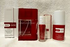 3Pc Set Avon Sxy Side for Her Eau de Toilette Spray, Deodorant & Rollette