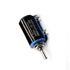 WXD3-13-2W 100K ohm Rotary Multiturn Wirewound Potentiometer NEW