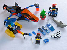 Lego Aquazone Lot: 6155, 6115, 6125 DEEP SEA PREDATOR BARRACUDA, SCOUT, SPRINT 9