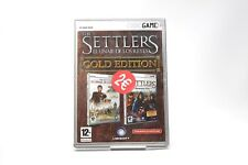 SETTLERS GOLD EDITION -  PC CD - ROM