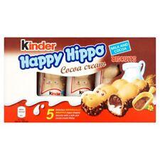 KINDER HAPPY HIPPO CIOCCOLATO BISCOTTO Bar - 30 BAR PREZZO D'OCCASIONE