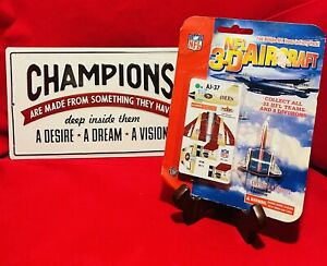 Brand New Sealed NFL 3-D Aircraft Collectible Models (6-pack)