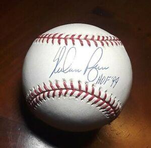 Nolan Ryan Hand-Signed Autographed OML Baseball w/HOF '99 - Steiner COA