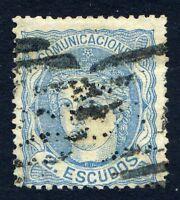 ★ EDIFIL 112 - EFIGIE ALEGORICA - 2 ESCUDOS AZUL (+840€) ★
