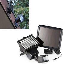 60x LED Solarlampe Außen Leuchte Solarstrahler Bewegungsmelder Sensorlicht neu