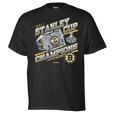 Boston Bruins 2011 NHL Stanley Cup Champions t-shirt small Reebok New