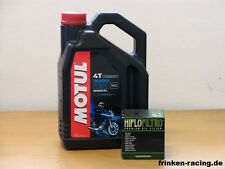 Motul 3000 20W50 mineral / Ölfilter Yamaha XVS1300 A Midnight Star Bj 11 - 13