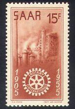 Saar 1955 Rotary International/Welfare/Business/Industry/Commerce 1v (n38773)