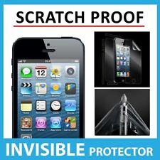 Iphone 5 Frontal escudo Invisible Protector De Pantalla - a prueba de raspaduras Grado Militar