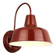 Design House Mason Red Outdoor Wall-Mount Barn Light Sconce