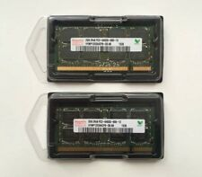 Hynix BARRETTE Mémoire 4 Go (2x 2 Go) DDR2 PC portable so-dimm PC2-6400S 800MHz