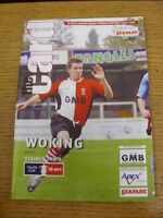 27/10/2007 Woking v Staines Town [FA Cup] . Thanks for viewing our item, when li