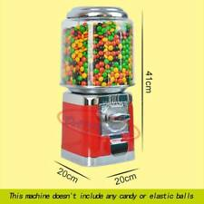 1Pc Red Bulk Vending Gumball Candy Dispenser Machine Wholesale Vending Products