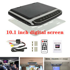 "10.1""Hd screen Car Roof Mount Flip Down Mp5 Monitor Overhead Video Fm Player Set"