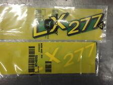 John Deere Genuine OEM Decal Set of 2 M146005 for LX277 Lower Hood
