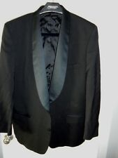 Black Perry Ellis Tuxedo Jacket Wedding Prom 46 Ex-Long