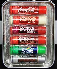 Lip Smacker Coca Cola 6pc Set in Tin 6 Flavor