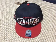 "NEW W/TAGS MLB MINOR LEAGUE ""GWINNETT BRAVES"" BASEBALL CAP"