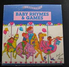 Various - The Musical Story Of Baby Rhymes & Games LP VG AIM-S 1085 Vinyl Record