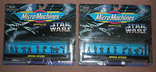 Galoob Micro Machines-Star Wars Imperial Officers Figs.-Set of 2-96 Variant