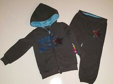 Girls Pink House Hoodie & Pants Sweat Suit Set Size 24 Months