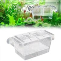 Aquarium Fischteich Guppy Double Breeding Breeder Rearing Trap Box Hatcher H5A1