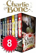 Charlie Bone Collection Jenny Nimmo 8 Books Set Red Knight, Midnight, Blue Boa