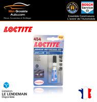 LOCTITE 454 Adhésif Instantané Colle 3 Secondes 5g Gamme PRO Réf. 303266