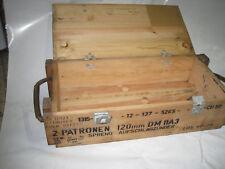 Holzkiste Shabby Chick Vintage Retro Möbel Truhe Tisch Couchtisch  Weinkiste