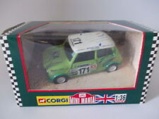 Corgi Green Diecast Rally Cars