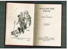 RICHMAL CROMPTON William the Pirate - 1947 1st Australian edition - Dymocks