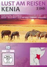 KENIA lust am reisen GERMAN  DVD AFRICA AFRICAN SAFARI NATURE 2 DISC SET NEW
