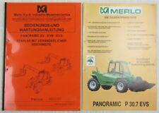 Merlo Panoramic P 25.9 - 60.10 EV EVS EVN Stapler Bedienungsanleitung Wartung