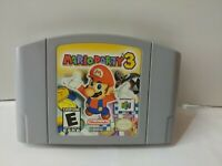 Mario Party 3 (Nintendo 64, 2001) N64 Authentic Cartridge Only