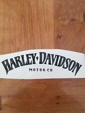 Harley Davidson Logo Decal Sticker Negro O Blanco