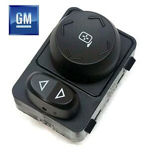 09-17 Chevrolet Traverse Driver Side Door Mount Power Mirror Switch NEW GM 302