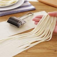 Spaghetti Noodle Maker Stainless Steel Lattice Roller Dough Cutter Kitchen  MS