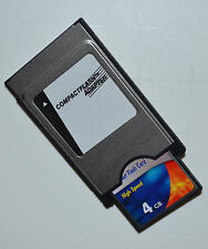 4 GB Compact Flash Speicherkarte + PCMCIA Adapter für Mercedes Comand APS