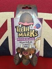 Teeth-Marks Bookmark - Bat. Dynamic Fun Bookmark. Gift, Brand New