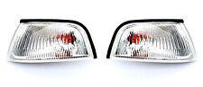 Mitsubishi Lancer Mk Vi 1997-2001 Vorne Weiß Signal Blinker Lichter Lampen Neu