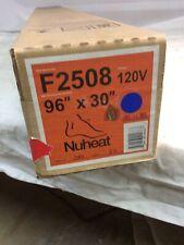 "NuHeat F2508 Electric Floor Heating Mat 96""x30"" 120V"