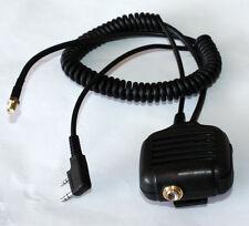 Speaker Mic For KENWOOD PUXING WEIERWEI WOUXUN BAOFENG Radio With Antenna