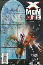 X-Men Unlimited   #3  VF  (signed by Mark McKenna)