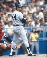 8x10 photo baseball Reggie Jackson New York Yankees  Batting Stance Game Action!