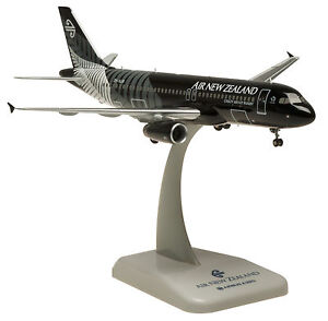 Hogan Wings 1:200 Air New Zealand All Black Airbus A320 Metall AVIATIONMODELSHOP