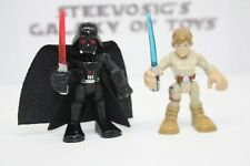 Playskool Star Wars Galactic Heroes Darth Vader Luke Skywalker Bespin 2 Pack